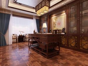 中式书房-10