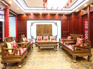 中式客厅-14
