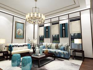 中式客厅-20