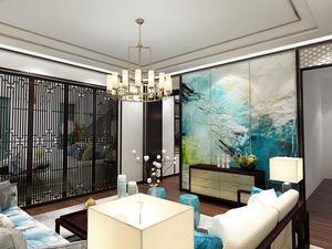 中式客厅-19